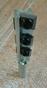 "Router Bit 1/2"" - Top Quality Worktop Cutter, 6 x Carbide Inserts - 20mm x 55mm"