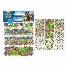 Paw Patrol Confetti Scatters (34gram Pack) Kids Birthday Party Decoration New