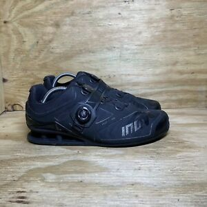 Inov-8 Fastlift 370 Weightlifting Shoes, Men's Size 11.5, Black