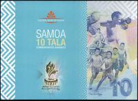 SAMOA 10 TALA COMM. 2019 POLYMER P NEW UNC W/ FOLDER