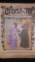 Rivista Jeans Che Rit N° 374 1908 Giornale Illustre che Appaiono Il Venerdì ABE