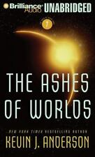 The Ashes Of Worlds by Kevin J. Anderson new MP3-CD 20 hours