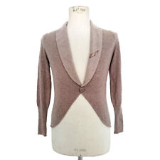 CARDIGAN VINTAGE DONNA BRUNELLO CUCINELLI 100% CASHMERE MADE IN ITALY ART.6286