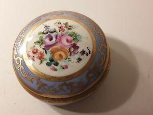 Le Tallec Paris Hand Painted Covered Trinket Jar