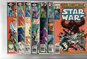 40 Marvel (1st series) and Dark Horse Star Wars comics
