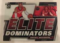 2019-20 Donruss Optic Russell Westbrook Elite Dominators Houston Rockets
