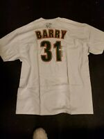 Brent Barry Autographed Sonics X-large T-shirt NWT