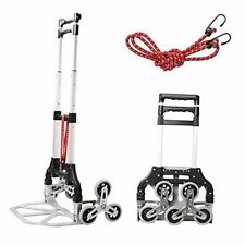 New Listingstair Climbing Cart Folding Hand Truck Aluminum Alloy Luggage Moving Trolley