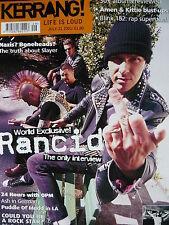 KERRANG 862 - RANCID - SLAYER - MEGADETH