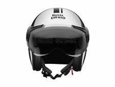 Royal Enfield Genuine Thick And Thin Stripes Helmet Chrome