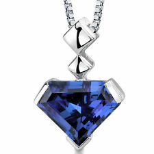 6.25 CT Color Changing Alexandrite Sterling Silver Pendant