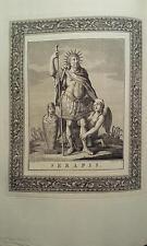 Jacopo Guarana 1792: Serapis, Serapide, DIO GRECO EGIZIO