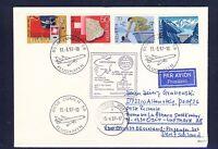 52721) LH LF Düsseldorf - Oslo Norwegen 6.4.97, Brief ab Schweiz