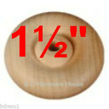 """48 - 1½"""" Wood Wheels with Axle - Toy Parts Wooden Wheel"""