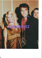 ELVIS PRESLEY LAS VEGAS SHOWGIRL PAT GILL DEEP CLEAVAGE 8/1/69 PHOTO CANDID #2
