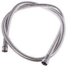 2 Metre Stainless Steel Flexible Shower Hose Bathroom Large Bore Meter SS M