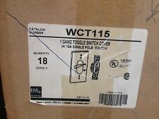 EGS WCT115 1 GANG TOOGLE SWITCH COVER