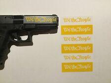 We The People Handgun Slide Stencil for Duracoat, Cerakote, Krylon!