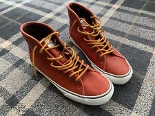 Raro Vans California CUERO BOTAS TALLA UK 6 (US 7)