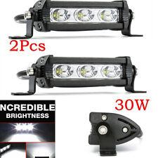 12V 6000LM LED Driving Light 60W Offroad Spot Beam Work Light Fit SUV Car Truck