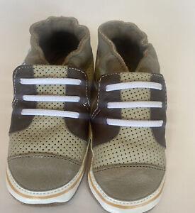 Baby Boy Robeez 18-24 Months Crib Shoes New unworn