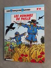 LAMBIL CAUVIN LES TUNIQUES BLEUES T40 LES HOMMES DE PAILLE EO ETAT NEUF