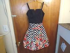 "Girls B.Darlin Size 5/6 Sleeveless Multi-Color Floral Dress "" BEAUTIFUL DRESS """