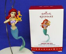 Hallmark Ornament Disney The Little Mermaid Under the Sea 2016 Ariel Seahorses