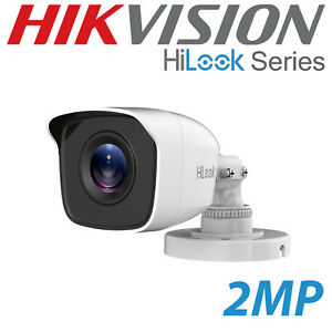 2MP HIKVISION HILOOK CAMERA BULLET 2.8MM 20M EXIR THC-B120 OUTDOOR INDOOR WHITE