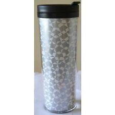 Starbucks® Tumbler - White with Silver Mosaic Star