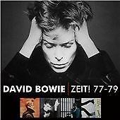 David Bowie - Zeit! 77-79 (2013)  4CD Box Set  NEW/SEALED  SPEEDYPOST