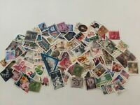 75 USED U.S. ISSUES:1920s thru 2000s: OFF PAPER