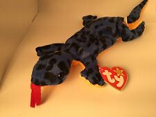 AUTHENTICATED by Becky's True Blue Beans-Lizzy 4033 TY Beanie Baby 5-11-95 PVC