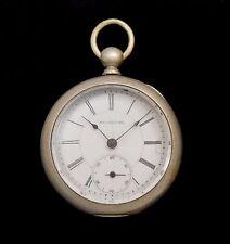 Bridgeport Watch Co. Pocket Watch by Gallet 1886
