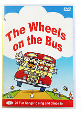 The Wheels On The Bus DVD  Childrens, Kids, Nursery Rhymes, Songs, Music **NEW**