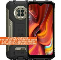"DOOGEE S96 PRO RUGGED 8gb 128gb Waterproof 6.22"" Fingerprint Dual Sim Android 10"