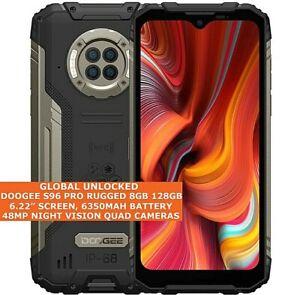 "DOOGEE S96 PRO RUGGED 8gb 128gb Waterproof 6.22"" Fingerprint Dual Sim Android 10"