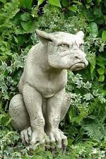 """Gargoyle """"ERNIE""""  Pheeberts by Fiona Scott Steinguss Vidroflor Skulptur"""