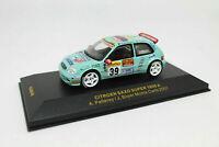 IXO 1:43 - RAM048 Citroen Saxo Super 1600 A Pellery Boyer Monte Carlo 2001 rare
