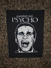 American Psycho Cult Horror Movie Cloth Patch
