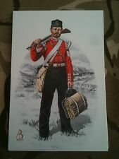 Military Postcard 33rd Duke of Wellingtons Regiment 1702 2002 by Alix Baker