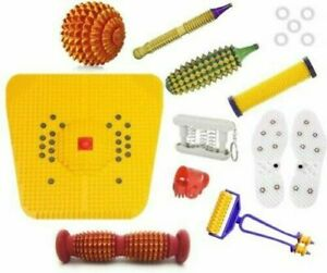 ACUPRESSURE MASSAGER SUJOK THERAPY COMBO KIT FOR STRESS PAIN RELIEF NATURAL CARE