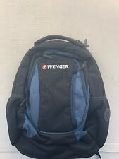 New Wenger by SwissGear Multi-Compartment Backpack - Black and Blue