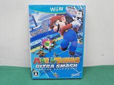 Nintendo Wii U -- Mario Tennis Ultra Smash -- SEALED NEW. JAPAN GAME. 64203
