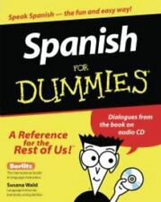 Spanish for Dummies® by Susana Wald (1999, Paperback)  No CD included