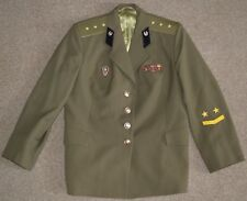 Soviet Union USSR Russian Army Military Medic Medical Uniform Jacket