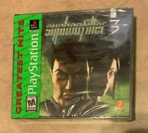 Syphon Filter 3 NEW sealed Playstation 1 Green Label Decal on Black Label Game