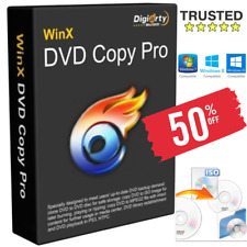 WinX DVD Copy Pro 2019✅Official Full Version+Licence✅Windows🔑Digital Download📩