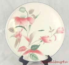AB1 Mikasa Floral Pink & White Silk Flowers FX003 Cake Plate Lg Serving Platter