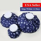 Hot And Cold Ice Pack Reusable Pain Relief Compress Bag Set
